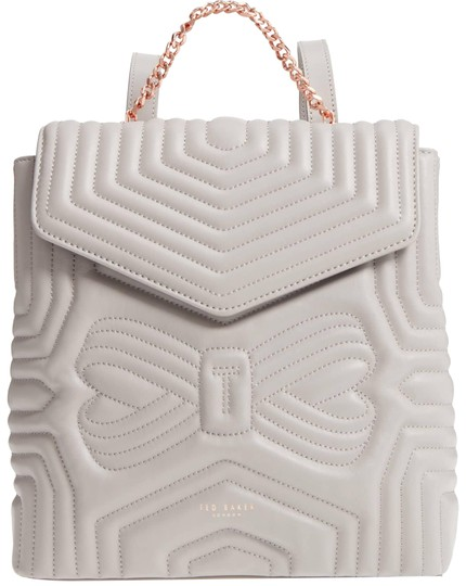 Preload https://img-static.tradesy.com/item/23937672/ted-baker-london-quilted-rugsack-charcoal-leather-backpack-0-4-540-540.jpg