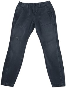 AMO Straight Leg Jeans-Distressed