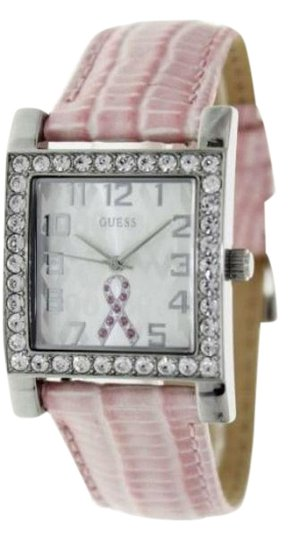 Preload https://img-static.tradesy.com/item/23937763/guess-silver-tone-ladies-with-leather-strap-watch-0-1-540-540.jpg