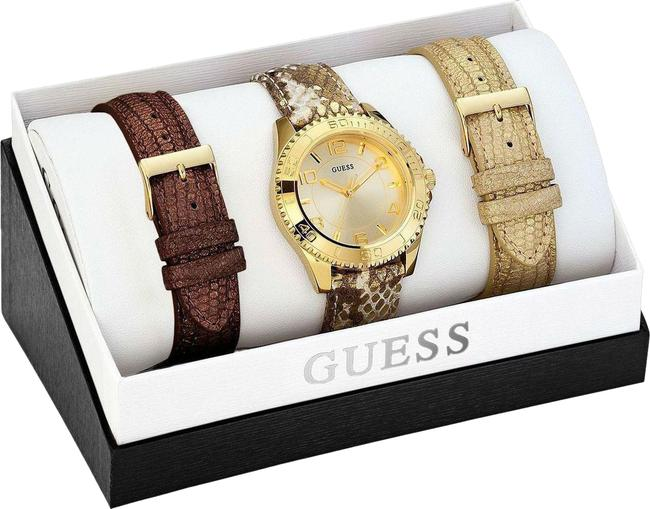 Item - Yellow Gold Ladies Boxset Watch
