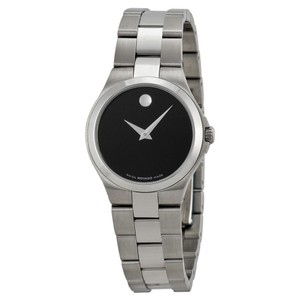 Movado Dial Serio Stainless Steel Ladies Watch