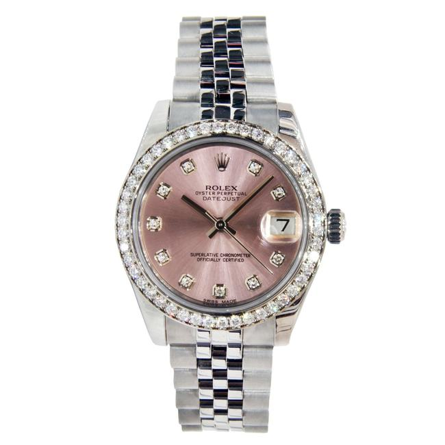 Rolex Stainless Steel Datejust Mid-size with Diamonds 31mm Watch Rolex Stainless Steel Datejust Mid-size with Diamonds 31mm Watch Image 1