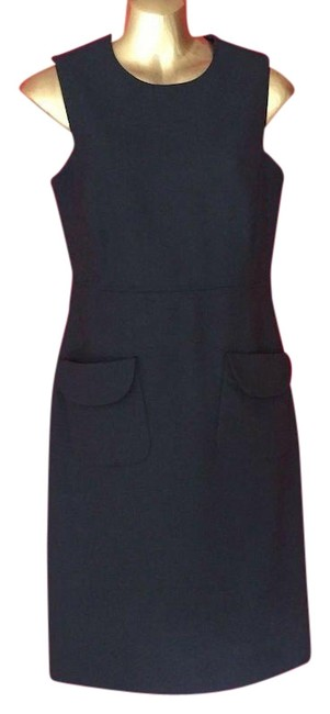 Preload https://img-static.tradesy.com/item/23938010/tory-burch-black-wool-mid-length-workoffice-dress-size-4-s-0-3-650-650.jpg