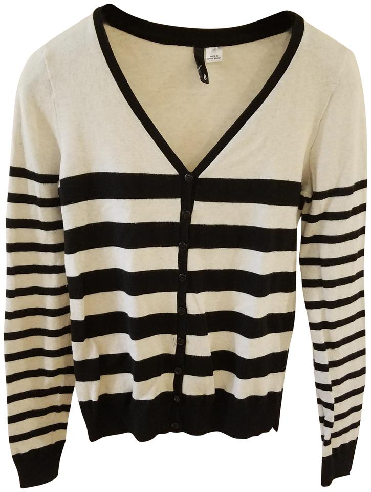 Divided By Hm Black Sweater Women Teen Junior Clothing Cardigan