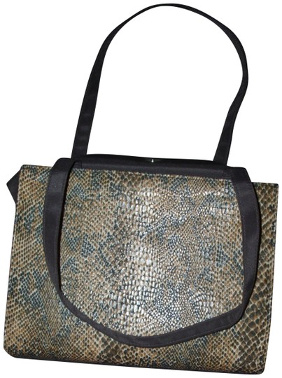 Preload https://img-static.tradesy.com/item/23938017/animal-print-tote-fabric-shoulder-strap-brown-satchel-0-1-540-540.jpg