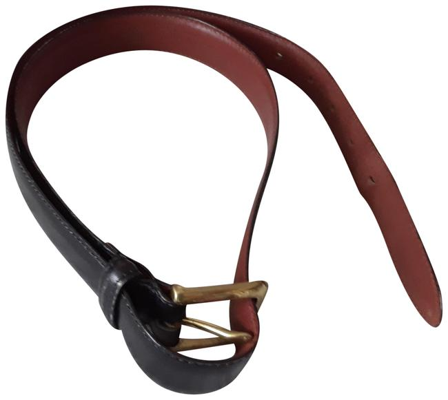 Coach Black Made In The United States Calfskin 3868 Size 36 Belt Coach Black Made In The United States Calfskin 3868 Size 36 Belt Image 1