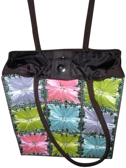 Preload https://img-static.tradesy.com/item/23938036/bright-pastel-floral-embroidered-70s-art-deco-tote-colorful-fabric-shoulder-bag-0-1-540-540.jpg