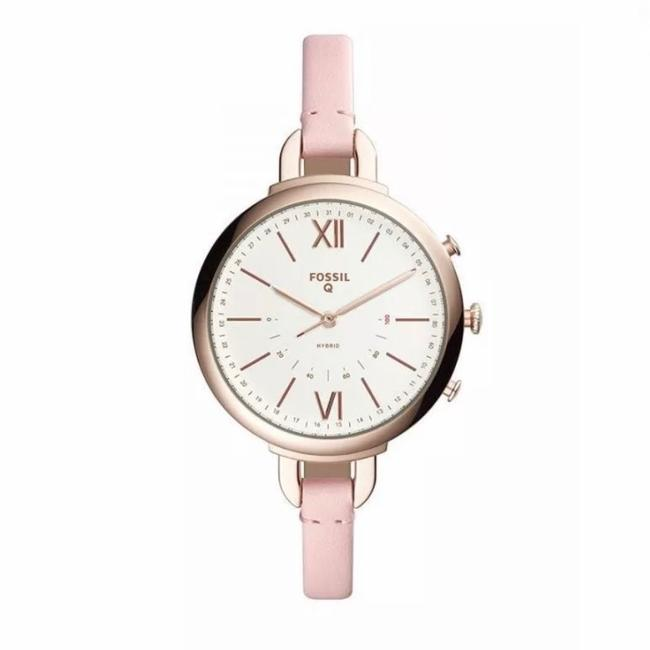 Fossil Annette Sand Leather Hybrid Smartwatch Activity Tracker Ftw5021 Watch Fossil Annette Sand Leather Hybrid Smartwatch Activity Tracker Ftw5021 Watch Image 1