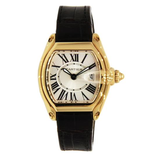 Preload https://img-static.tradesy.com/item/23938126/cartier-yellow-gold-roadster-for-ladies-18k-with-leather-strap-31mm-watch-0-0-540-540.jpg