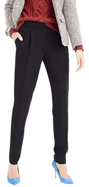Preload https://img-static.tradesy.com/item/23938141/jcrew-black-polished-crepe-pant-suit-size-4-s-0-1-650-650.jpg