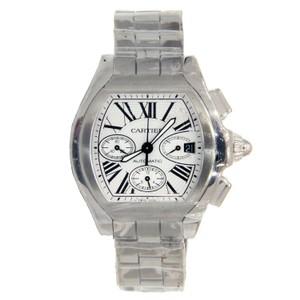 Cartier Cartier Roadster XL Stainless Steel Chronograph w/ Roman Numeral Dial