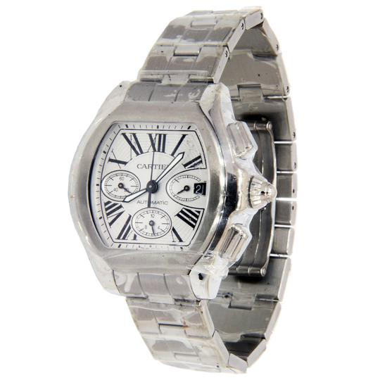 Cartier Cartier Roadster XL Stainless Steel Chronograph w/ Roman Numeral Dial Image 2