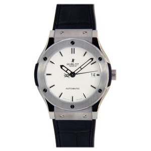 Hublot Hublot Classic Fusion Stainless Steel with Leather Strap 42mm