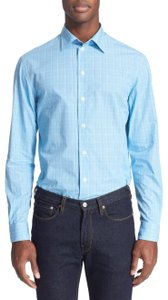 Armani Collezioni Button Down Shirt sky blue