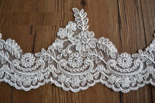 Other Lace Wedding Veil - Cathedral Veil Ivory Veil