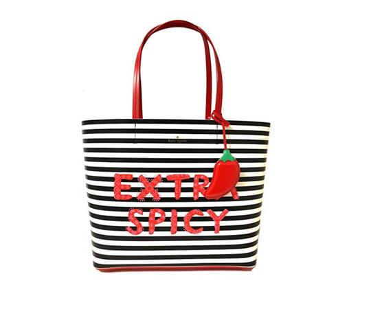 Preload https://img-static.tradesy.com/item/23938588/kate-spade-chili-pepper-extre-spicy-little-len-white-red-black-leather-tote-0-0-540-540.jpg