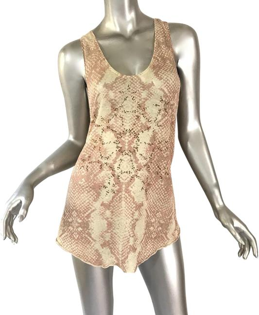 Preload https://img-static.tradesy.com/item/23938656/zadig-and-voltaire-tan-and-pink-beaded-tank-topcami-size-8-m-0-2-650-650.jpg