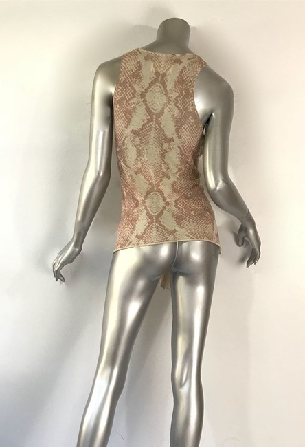Zadig & Voltaire Top Tan and Pink Image 2