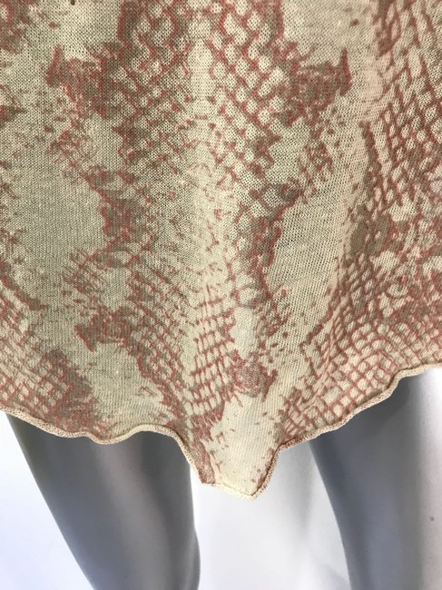 Zadig & Voltaire Top Tan and Pink Image 3