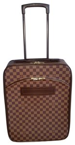 Louis Vuitton Pegase 45 Rolling Luggage Carry On Overnight Suitcase brown Travel Bag
