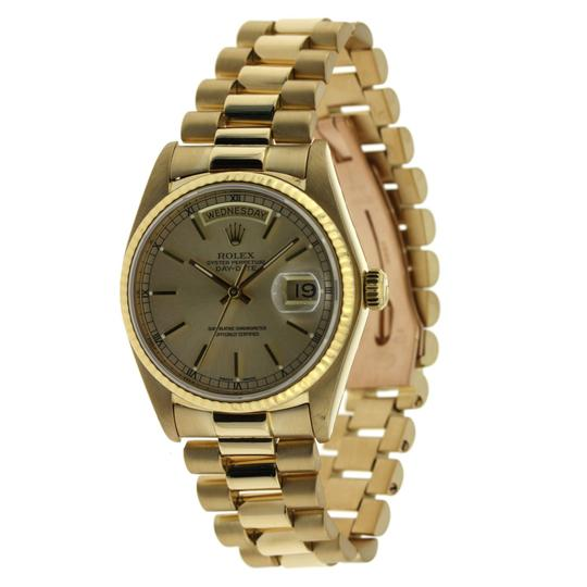 Rolex Vintage Rolex Day Date Yellow Gold Index Dial 36mm Image 2
