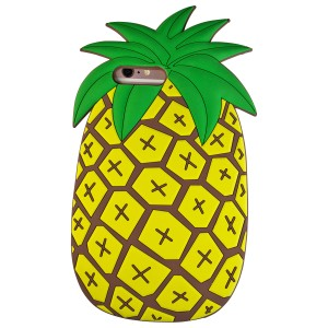 Sunology Sunology iPhone 7 Rubber Case Pineapple