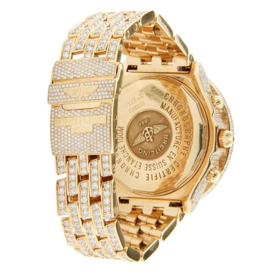 Breitling Breitling Windrider Crosswind 18K Yellow Gold Iced Out 44mm Image 1