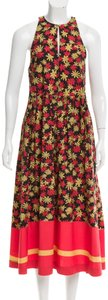 black floral Maxi Dress by SUNO