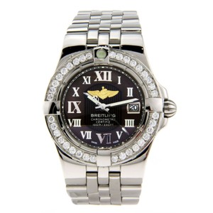 Breitling Breitling Starliner Ladies Stainless Steel with Diamond Bezel 30mm