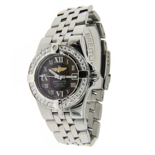 Breitling Breitling Starliner Ladies Stainless Steel with Diamond Bezel 30mm Image 2