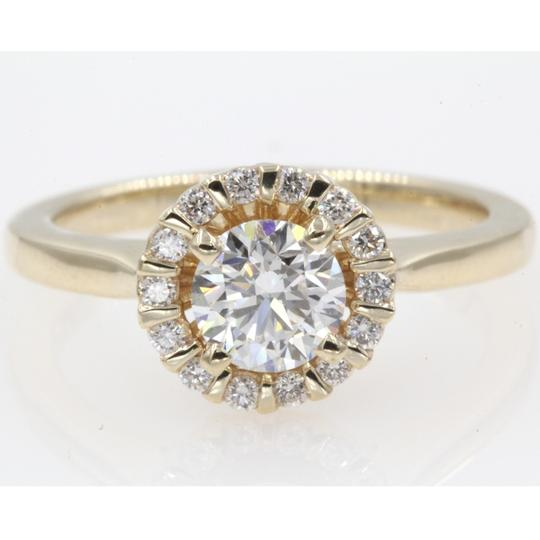 Preload https://img-static.tradesy.com/item/23938979/14k-yellow-gold-round-cut-84-carat-floating-floral-halo-engagement-ring-0-0-540-540.jpg
