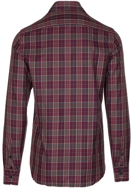 Alexander McQueen Button Down Shirt burgundy Image 1