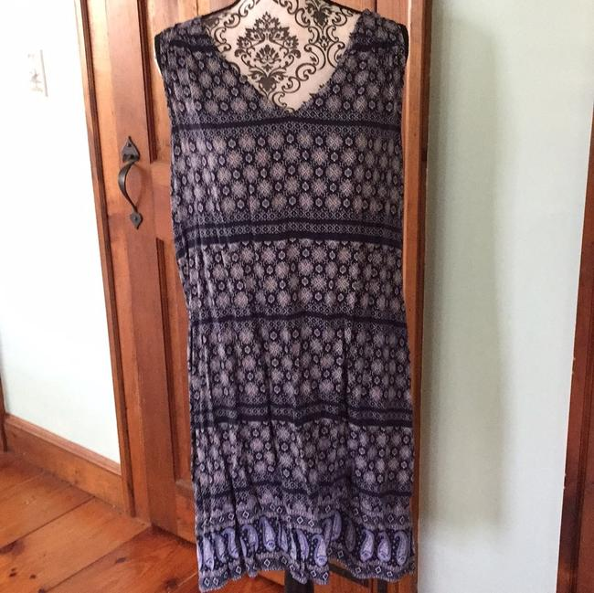 Old Navy short dress blue and white on Tradesy Image 3