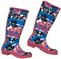 Hunter Floral Boots/Booties Size US 8 Regular (M, B) Hunter Floral Boots/Booties Size US 8 Regular (M, B) Image 1