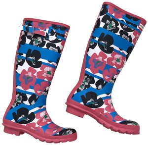 Hunter floral Boots