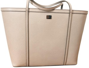 Dolce&Gabbana Tote Chic Leather Work Roomy Shoulder Bag