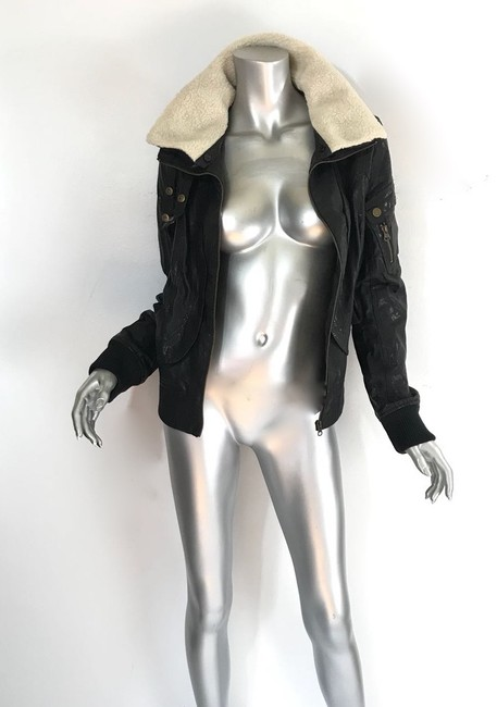 W118 by Walter Baker black Leather Jacket Image 6