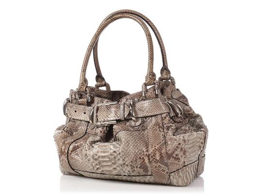 Burberry Tan Buckle Bb.p0706.02 Silver Hardware Reduced Price Satchel in Brown Image 1