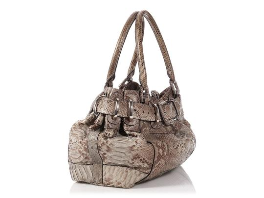 Burberry Tan Buckle Bb.p0706.02 Silver Hardware Reduced Price Satchel in Brown Image 4