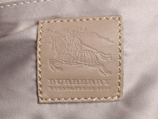Burberry Tan Buckle Bb.p0706.02 Silver Hardware Reduced Price Satchel in Brown Image 8