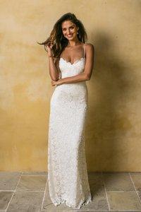 Grace Loves Lace Ivory Mia Feminine Wedding Dress Size 6 (S)