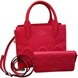 Kate Spade Tote in Red-Orange