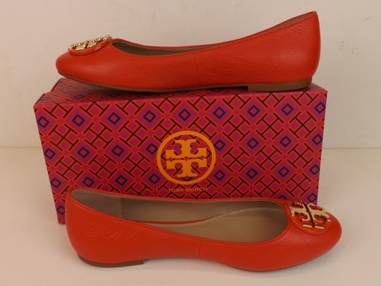 Tory Burch Red/Samba Flats Image 3