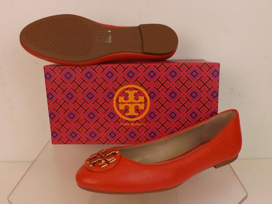 Tory Burch Red/Samba Flats Image 4