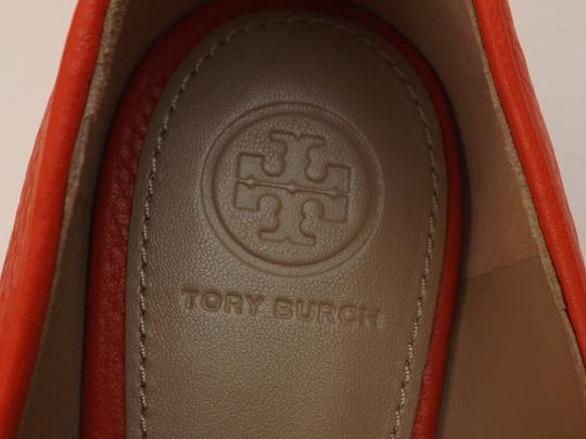 Tory Burch Red/Samba Flats Image 5