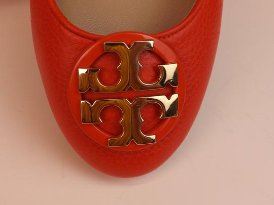 Tory Burch Red/Samba Flats Image 8