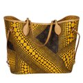 Louis Vuitton Neverfull Kusama Monogram Limited Edition Classic Tote in Brown Image 1
