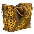 Louis Vuitton Neverfull Kusama Monogram Limited Edition Classic Tote in Brown Image 2
