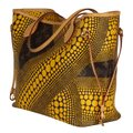 Louis Vuitton Neverfull Kusama Monogram Limited Edition Classic Tote in Brown Image 3