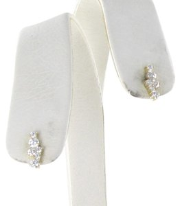 Sydney Evan Cocktail Bar Earrings Diamond 0.78cts 14K Yellow Gold